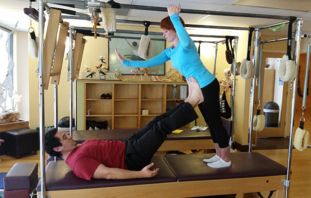 Marcos Apodaca instructor at Pilates Center of Austin