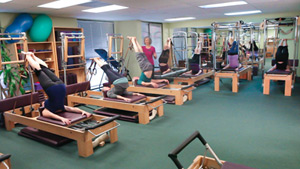 Wendy teaching reformer class