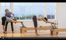 Wendy on Pilates Anytime teaching Pilates