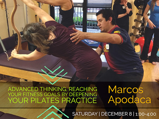 Embodied Pilates matworkworkshop with Wendy