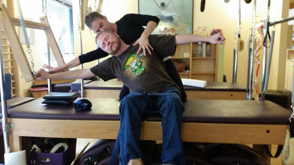 Muscular Dystrophy Meets Pilates Partnership 3