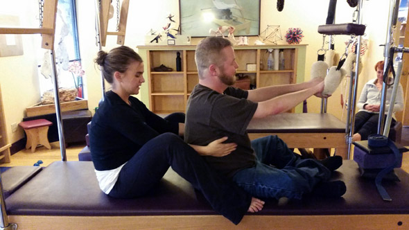 Muscular Dystrophy Meets Pilates Partnership 4